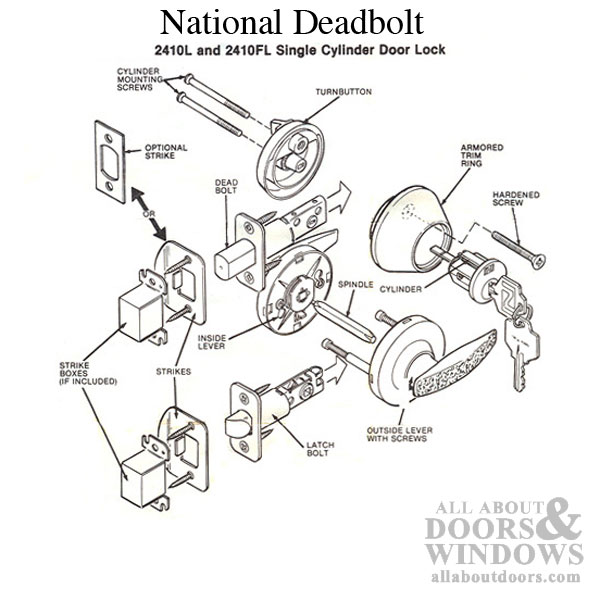 Window Replacement Parts Diagram