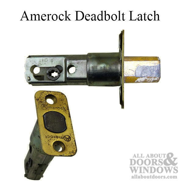 Amerock Deadbolt Latch 2 Inch Backset Discontinued