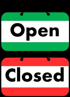 Open Closed Sign   AllAboutLean.com