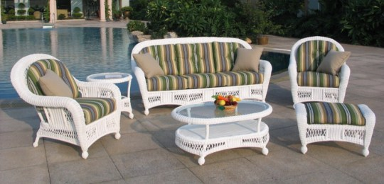 St Lucia 6 Piece Outdoor Wicker Sofa Set   All About Wicker St Lucia 6 Piece Outdoor Wicker Sofa Set