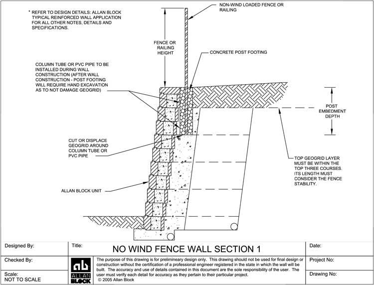 Landscape Retaining Wall