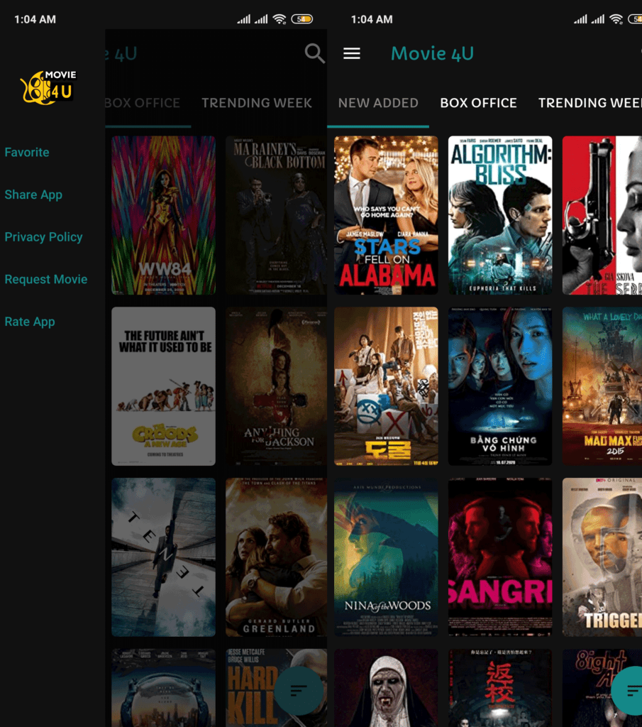 Movie 4U Latest IPTV APK Watch Unlimited Movies With All Contries Subtitles 3