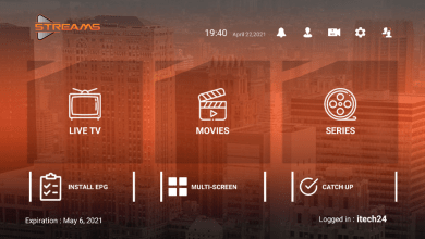 Streams Pro Premium IPTV APK With Activation Login code 6