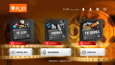 Flip IPTV Plus Premium Activation 9