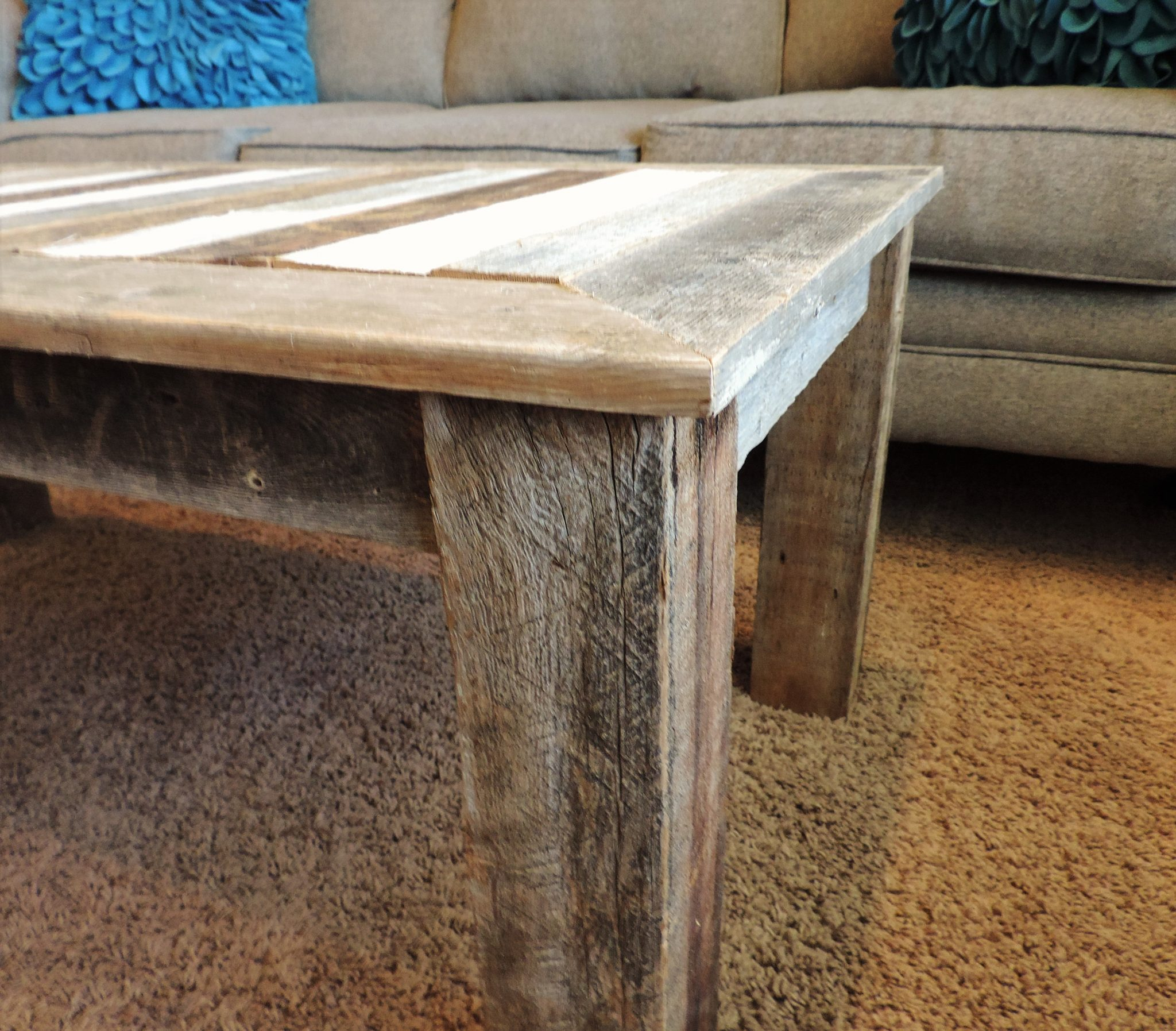 24 In X 48 In X 18 In Quot Bretton Quot Style Reclaimed Wood