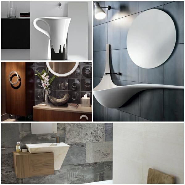 Moderne Waschbecken F 252 R Eine Kreative Badezimmergestaltung