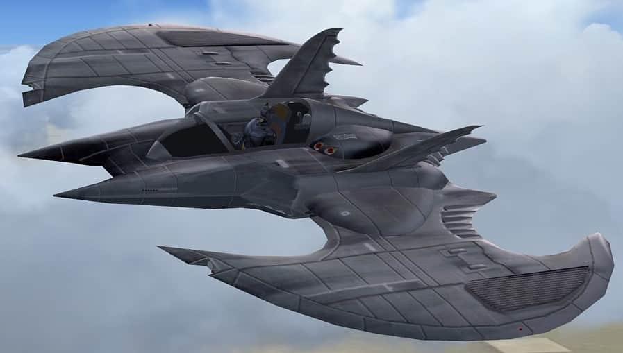 Fsx The Bat Wing Flight Simulator Addon Mod