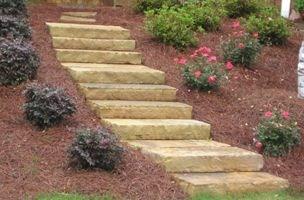 Atlanta Flagstone Step Treads North Georgia Step Treads | Stone Treads For Outdoor Steps | Marble | Granite | Non Slip | Flagstone | Bluestone Treads