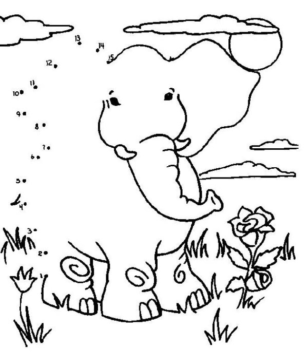 connect the dots coloring pages # 18