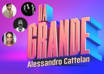 """Alessandro Cattelan debutta su Rai con """"Da grande"""". Ospiti musicali: Blanco, Il Volo, Marco Mengoni e Elodie"""