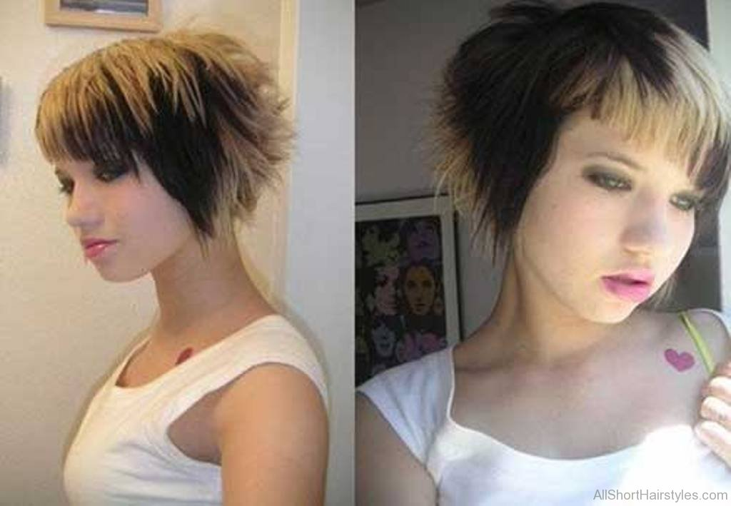 Cute Short Emo Hairstyles Page 1