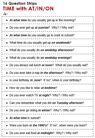 Sentence Preposition Simple