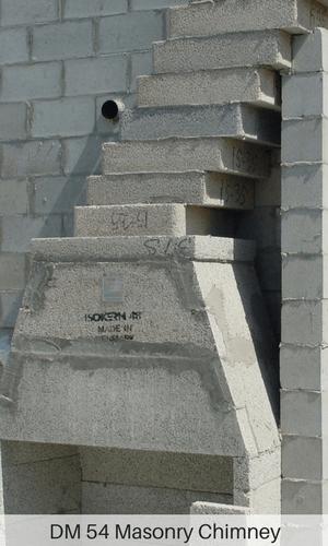Masonry Chimney From Earthcore 174 Isokern