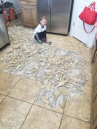 How to Remove Tile Flooring Yourself  with Tips and Tricks    All     How to Remove Tile Flooring Yourself  with Tips and Tricks    All Things  Thrifty
