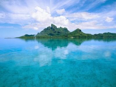 Society Islands Bora Bora French Polynesia | المرسال