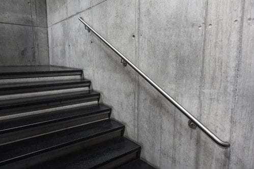 Aluminum Vs Steel Handrails Aluminum Handrail Direct   Steel Railing For Steps   Balustrade   Simple   Fabrication   Carbon Steel   Wooden