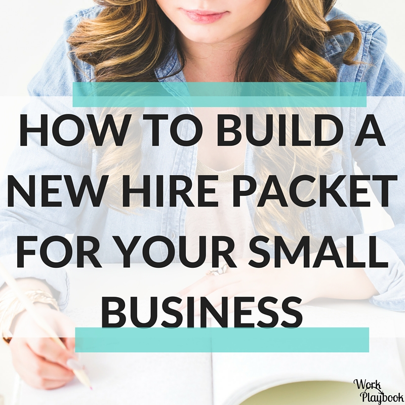 How to Build a New Hire Packet - Amanda Whetstone