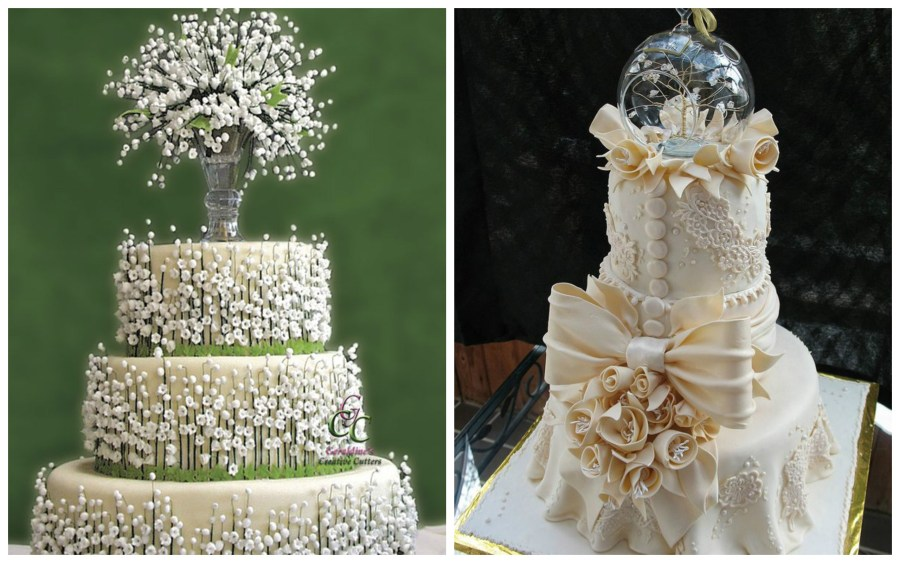 Top Most Elegant Wedding Cakes
