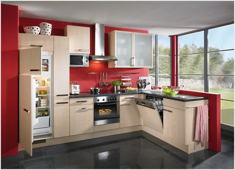 European Kitchen Interior Design