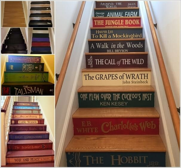 10 Super Cool Ways To Paint Your Stairs