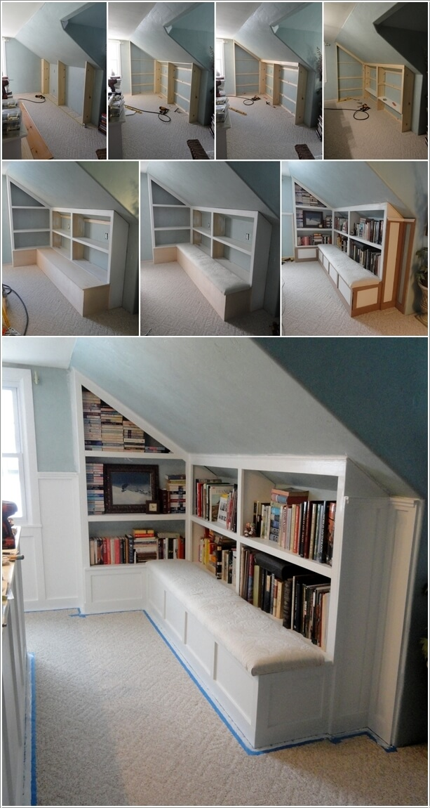 Clever Ways To Add Or Boost Attic Storage