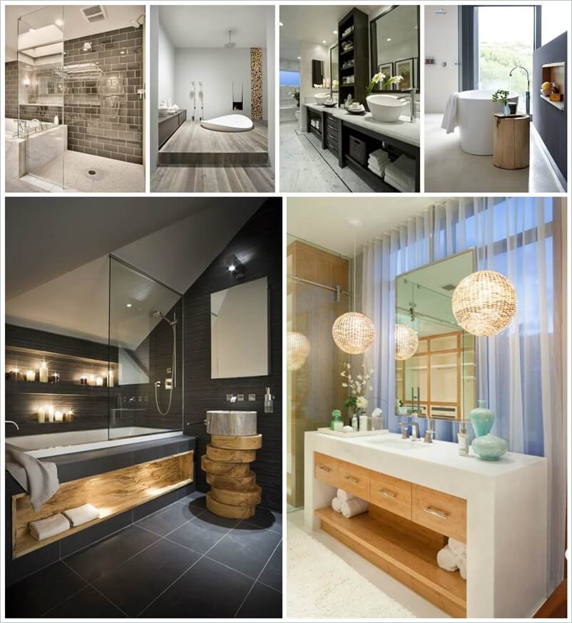 30 Awe Inspiring Contemporary Bathroom Designs 30 Incredible Contemporary Bathroom Ideas     Maison Valentina
