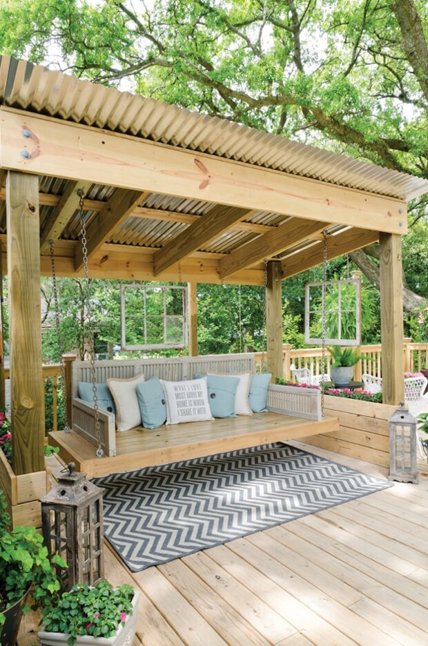 Pergola Roofing Ideas For Your Home S Outdoor