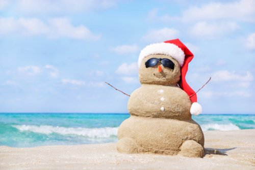 Funny Beach Christmas Florida