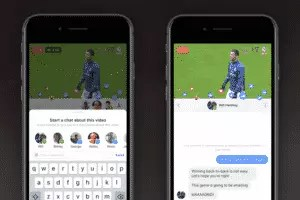 Facebook chat private per le dirette e trasmissioni multiple