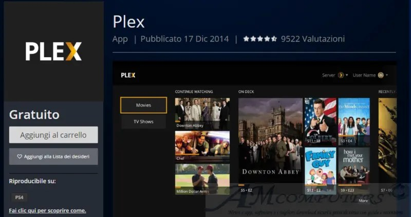 IPTV Plex alternativa a Kodi per i contenuti in streaming