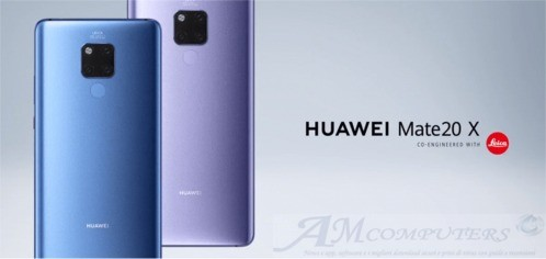 Huawei Mate 20 X con display da 7 pollici