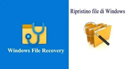 Microsoft Windows File Recovery recuperare i file cancellati