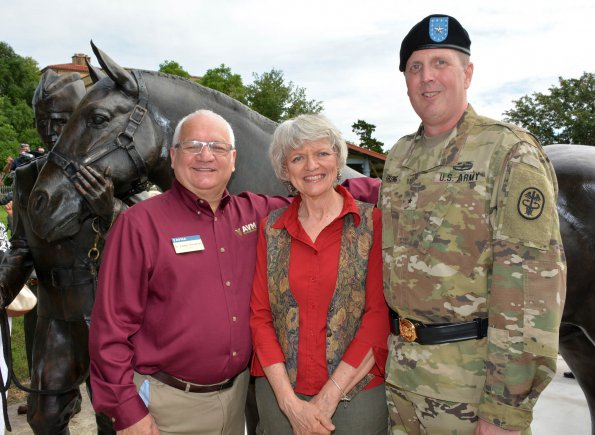 Vet Corps Celebrates 100th Birthday With A Statue Amedd