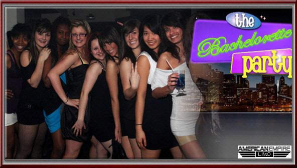 bachelorette party limousine rental NJ LIMO SERVICES