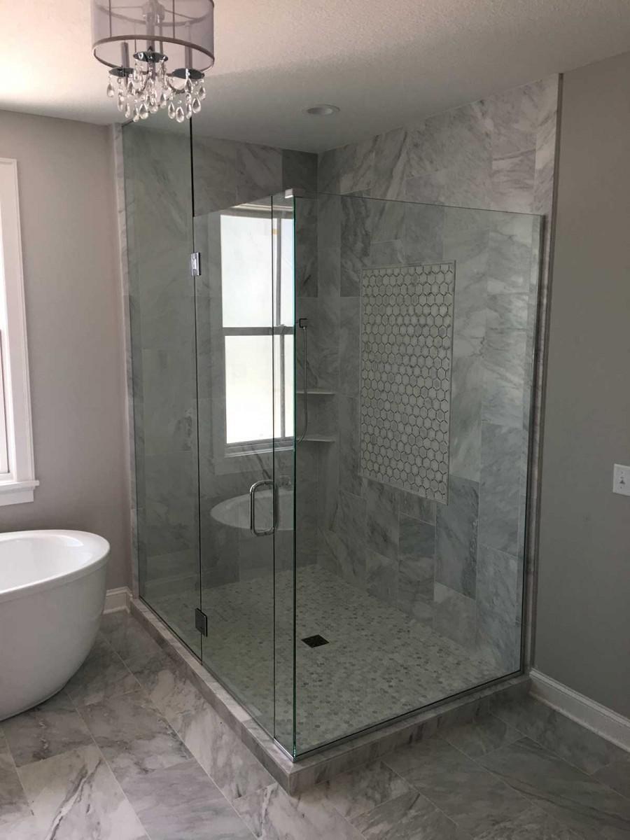 Corner Shower American Glass Amp Mirror