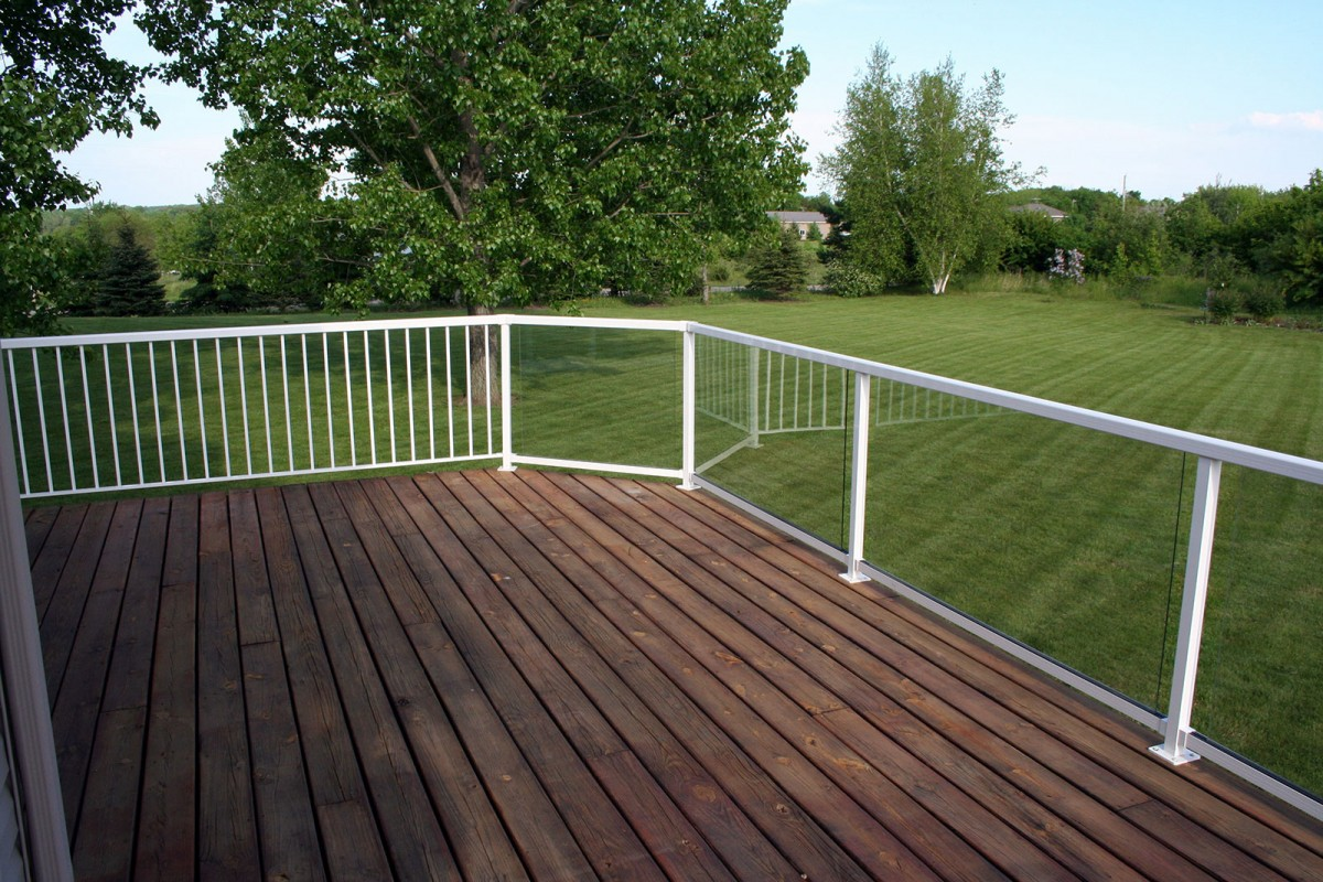 Unique Deck Railing