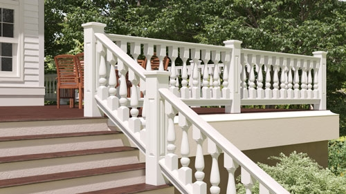 Traditional Wood Porch Spindles Turned Cedar Balusters For Porch | Banister Rail And Spindles | Component | Interior | Lj Smith | Newel Post | Porch