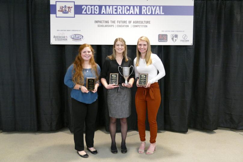 Crops Judging Contest American Royal