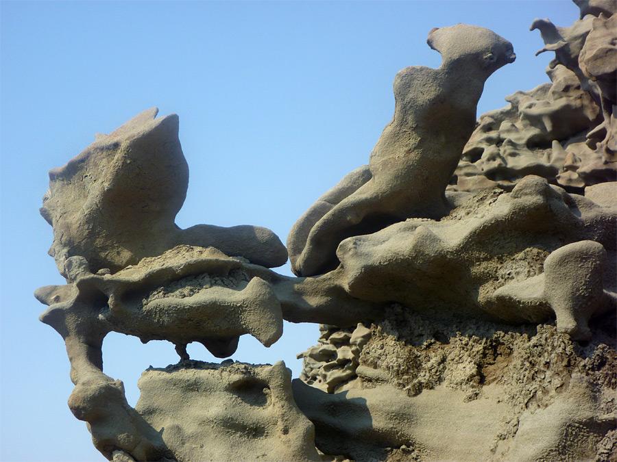 Bone Like Rocks Fantasy Canyon Utah