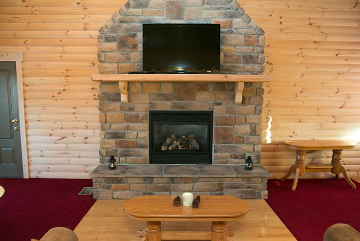 Amish Gas Fireplace