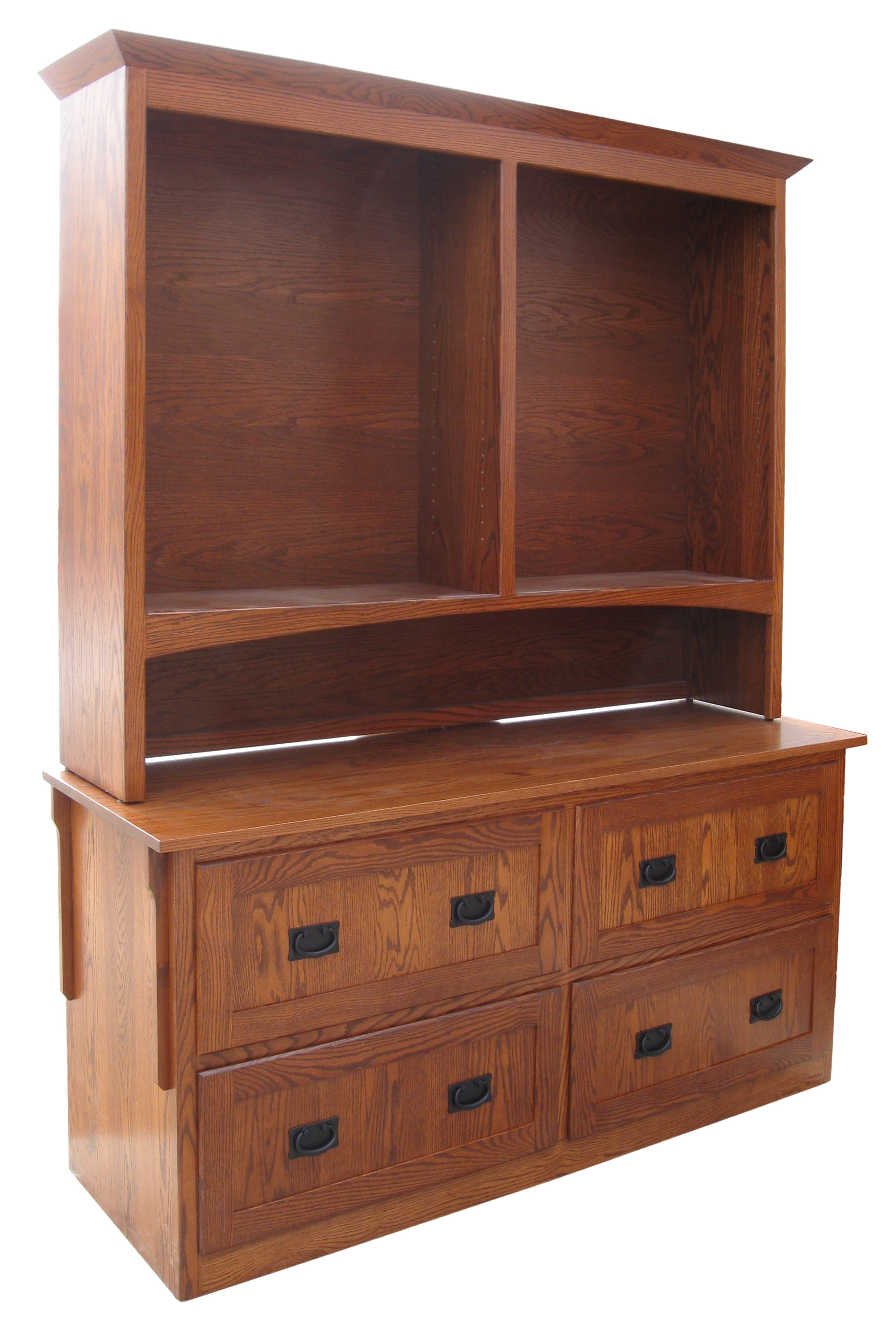 Mission 4 Drawer Lateral File Amish Furniture