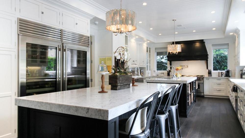 Luxury Kitchen Two Islands