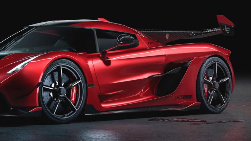 Koenigsegg Jesko Sets Pulses Racing With 2 65m Red Cherry