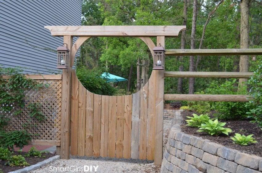 How Build Garden Gate