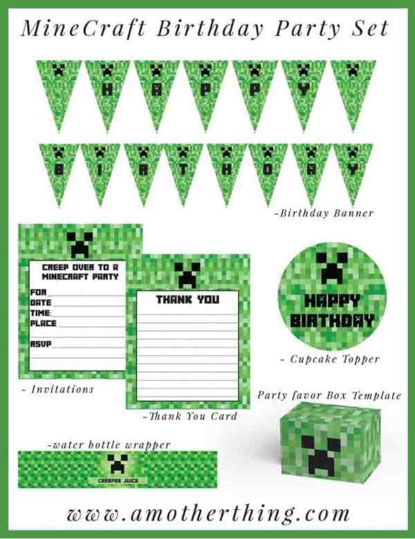 minecraft printable pictures # 62