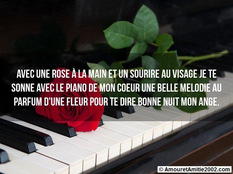 Message Amour Avec Une Rose 224 La Main Et Un Sourire Au