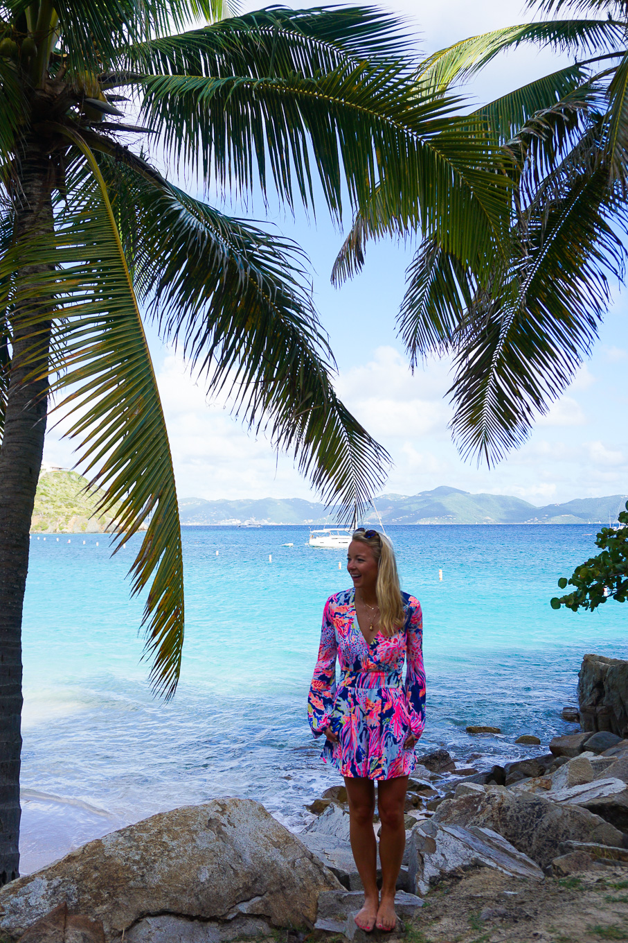 Amy Littleson In Lilly Pulitzer Resort Wear Peter Island