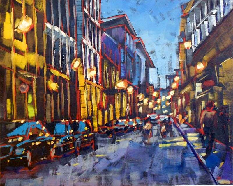 Rue Saint Paul Old Montreal Amy Stewart