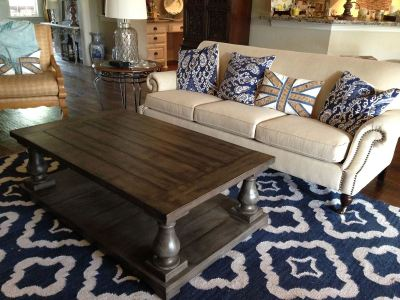 Ana White | Balustrade Coffee Table - DIY Projects