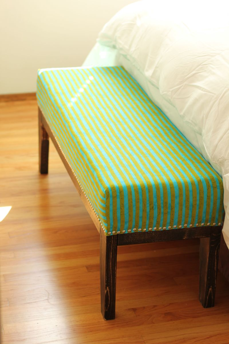 Ana White Easy Upholstered Bench Diy Projects